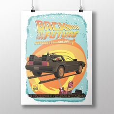 Back to the future trilogy movie digital poster. Please note that this is an instant download but every poster can be shipped internacionally. Link www.etsy.com/shop/ArtsAndTravelPrints
