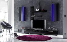 Mono stěna do obývacího pokoje ve futuristickém moderním designu nabízí velký úložný prostor, lesklý povrch, LED osvětlení a skvělou cenu! http://www.mabyt.cz/33512-obyvaci-stena-mono.htm
