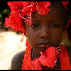 Beautiful child of Sierra Leone, Africa!