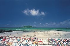 anywhere on jeju island is okay ---Hyeopjae Beach, Jeju Island, Korea