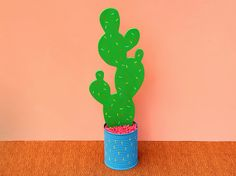 Confetti Cacti / Prickly Pear Cactus Sculpture by ScoutandWhistle
