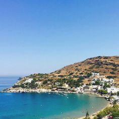 Syros island (Σύρος) Beautiful Kini beach with crystal waters !