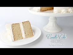 I have had an overwhelming number of requests for my scratch Vanilla Cake Recipe! Finally, I've had a chance to film it and share it with you all. In my opin...