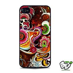Abstract Peacock Color iPhone SE Case
