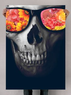 Graphic-Design-poster-skull-artwork