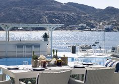 Greek & Mediterranean flavors with a view to the Aegean