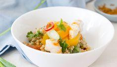 Couscous Salade met Visvrije Gamba's