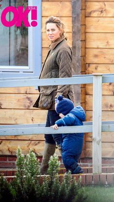 Kate and George's day out at Snettisham Park on March 31st. (via @OK_Magazine)