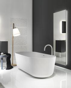 QUATTRO.ZERO Bathtub by FALPER design Metrica