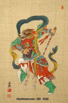 안녕하세요?이번엔 열두띠의 동물들의 뜻과 이야기에 대해 알려드릴까 합니다. 본론으로 들어가죠. 자축인묘 진사오미 신유술해....이 뜻을 아십니까? 자는 쥐 축은소 인은 호랑이(범) 묘는 토기.일단 이렇게 4개 풀이해 Japanese Drawings, Japanese Prints, Japanese Art, Chinese Astrology, Chinese Zodiac Signs, Chinese Element, Chinese Art, Korean Art, Asian Art