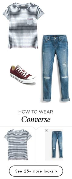 """Untitled"" by dancer0202 on Polyvore featuring White House Black Market, White Stuff and Converse"