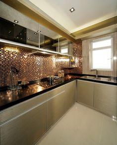 kitchen trends that are dominating in 2019 20 Industrial Kitchen Design, Luxury Kitchen Design, Kitchen Room Design, Kitchen Cabinet Design, Home Decor Kitchen, Interior Design Kitchen, Kitchen Furniture, Rustic Kitchen, Modern Industrial