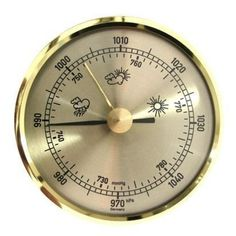 Barometer 6-er Teilung ø 136 mm, zum Einbau - Motivationsgeschenke