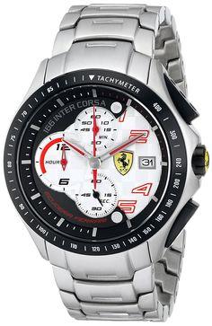 Ferrari Men's 0830085 Race Day Analog Display Quartz Black Watch