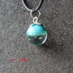Herzschlüssel: Rumgekugelt :-) ............. , Glaskugel, Schmuck, Kette, lampwork, glass beads, #DIY, selbstgemacht