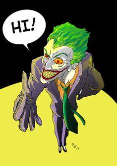 Joker Color by ~MarCus79 on deviantART