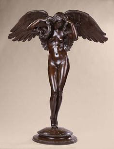 Descending Night modeled ca. 1915 Adolph A. Weinman