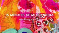 15 minutes of mixed media - your story on Vimeo