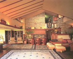 1000 images about frank lloyd wright house project on pinterest art deco art deco interiors Frank lloyd wright the rooms interiors and decorative arts