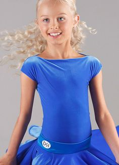 DSI Evita Juvenile Latin Dance Leotard 1098J| Dancesport Fashion @ DanceShopper.com