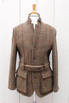 634-Mens-Wool-tweed-Norfolk-Jacket-POLO-Ralph-Lauren-40R-OneOfAKind-Sample