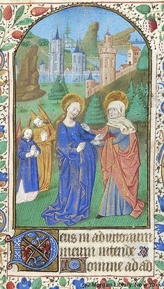 Book of Hours, MS M.1093 fol. 35r - Images from Medieval and Renaissance Manuscripts - The Morgan Library & Museum