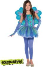 Girls Princess Peacock Costume - Party City   AHA -- Little Patty has found her costume!