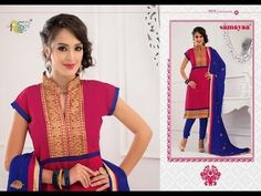 Office Wear Salwar Suits - Samayaa collection @ http://www.aapkabazar.in/anarkali.html