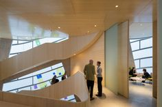 Steven Holl completes luminous Maggie's Centre next to Britain's oldest hospital