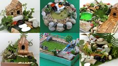 8 Easy DIY Fairy Gardens You can Make At Home  | Simple and Quick Crafts...