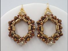 How to Make the Beaded Hoop Earrings - An Exclusive Beadaholique Kit - YouTube