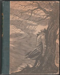 Wuthering Heights by Emily Brontë with wood engravings by Fritz Eichenberg. Hardback, F/G: Front endpaper removed, interior pages are clean, especially all the illustrated plates, which are the main focus of this edition, 1943, Random House, size 7.75 x 10 inches, 230 pages plus last endpaper, O/P edition. $6 Emily Bronte, Edgar Allan Poe, Forms Of Literature, English Literature, Illustrator, Book Purse, Engraving Illustration, Wuthering Heights, Gothic Halloween