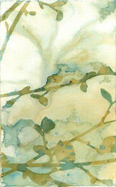 "Saatchi Art Artist Krista McCurdy; Photography, ""Currents"" #art #cyanotype #botanical #botanicalart #botanicalprint"
