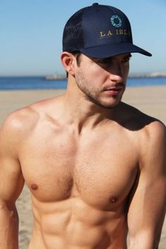 LA ISLA Navy Blue Trucker Cap for Men | #laislabrand #hats #navy #blue #apparel #beach #2017 #unique #island #laisla #happiness #model #models #fitness #summer #men #hot #beach #body #bodybuilding #love #selfie #fashion #girls #legs #beautiful #fit #sexy #cute #beauty #swimwear #sunshine