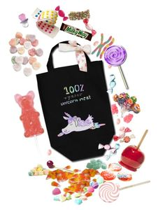 """Halloween Candy Bag"" by prettyroses ❤ liked on Polyvore featuring Chupa Chups, Charlotte Russe, Jelly Belly, Halloween, candy and trickortreat"