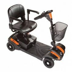 ECONÓMICO ▸VEO es un scooter compacto y desmontable en 5 partes. Puede transportarse con facilidad en cualquier maletero. http://www.benclinic.es/productos/Movilidad/Scooter-ST3-Veo-PVP-910/952