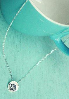 Miniature Silver Turtle Necklace by Susie Ghahremani / boygirlparty.com