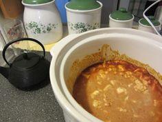 Rich and flavorful crockpot curry chickpeas for dinner! #vegan #vegetarian #butterchicken #dairyfree #glutenfree