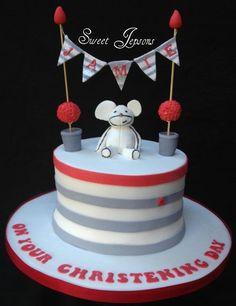 Christening cake  Cake by Kazza