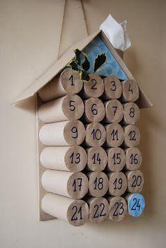 żiżi ...a peek into my crazy world: Nasz kalendarz adwentowy DIY