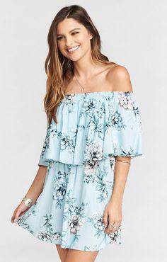 Casita Mini Dress~Wildflower Breeze