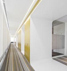 Project: Fraunhofer Institute, Porto, Portugal  Realisation: PEDRA SILVA ARQUITECTOS & LIGHT2LIFE, Lisboa, Portugal  Lighting: PROLICHT Götzens, Austria Portugal, Lighting Design, Stairs, Austria, Home Decor, Porto, Stones, Architects, Offices
