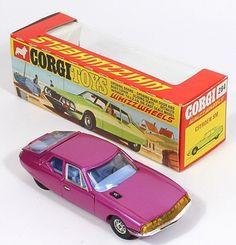 Corgi Toys 284 Citroen SM rare Pink paint with Box