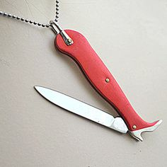 """Lady's Leg Knife Pendant now featured on Fab.The term """"killer gams"""" takes on a whole new meaning with the Lady's Leg Knife Pendant. Ladies—say hello to your new secret weapon."""