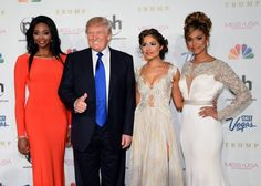 All I can say is that I'm so ashamed he is on the ticket running for president of the U.S.... Dear World, please forgive our temporary lapse of judgment. He does not represent our values as a people or a nation.... http://www.nj.com/entertainment/index.ssf/2016/10/donald_trump_miss_usa_miss_teen_usa_dressing_room.html