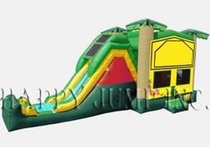 Jungle Jump & Slide 2