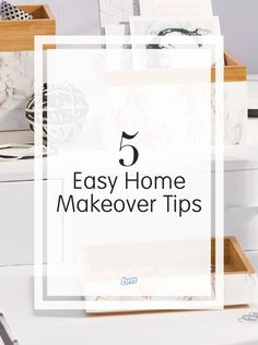 0e80579abdf 5 Easy Home Makeover Tips Using D-C-Fix Self Adhesive