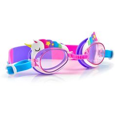 Bling swim goggles for kids: Unicorn goggles at Academy Sports Summer Bags, Summer Fun, Camp Care Packages, Candy Necklaces, Cool Mom Picks, Cool Gifts For Kids, Cool Summer Outfits, Mermaids And Mermen, Kids Swimming