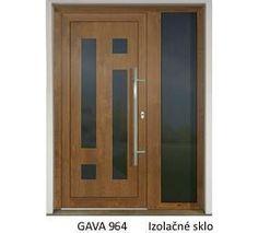 GAVA 964 Golden Oak domové dvere Wooden Door Design, Wooden Doors, Paper Doll House, Paper Dolls, Golden Oak, Tall Cabinet Storage, Modern Design, Glass Doors, Home Decor