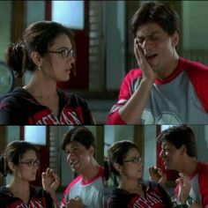 Kal ho naa ho 3 part process on how to smile!
